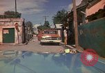 Image of narrow streets Kingston Jamaica, 1972, second 24 stock footage video 65675040554