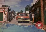 Image of narrow streets Kingston Jamaica, 1972, second 25 stock footage video 65675040554