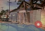 Image of narrow streets Kingston Jamaica, 1972, second 29 stock footage video 65675040554