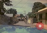 Image of narrow streets Kingston Jamaica, 1972, second 31 stock footage video 65675040554