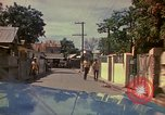 Image of narrow streets Kingston Jamaica, 1972, second 33 stock footage video 65675040554