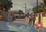 Image of narrow streets Kingston Jamaica, 1972, second 34 stock footage video 65675040554