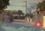 Image of narrow streets Kingston Jamaica, 1972, second 35 stock footage video 65675040554