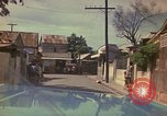 Image of narrow streets Kingston Jamaica, 1972, second 36 stock footage video 65675040554