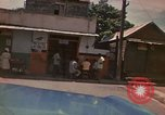 Image of narrow streets Kingston Jamaica, 1972, second 41 stock footage video 65675040554