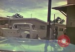 Image of narrow streets Kingston Jamaica, 1972, second 45 stock footage video 65675040554