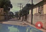 Image of narrow streets Kingston Jamaica, 1972, second 53 stock footage video 65675040554