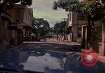 Image of narrow streets Kingston Jamaica, 1972, second 57 stock footage video 65675040554