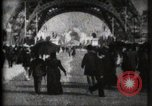 Image of Eiffel Tower Paris France, 1900, second 2 stock footage video 65675040582