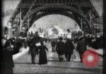 Image of Eiffel Tower Paris France, 1900, second 6 stock footage video 65675040582