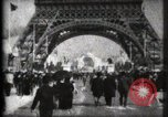 Image of Eiffel Tower Paris France, 1900, second 8 stock footage video 65675040582