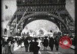 Image of Eiffel Tower Paris France, 1900, second 10 stock footage video 65675040582