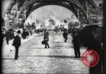 Image of Eiffel Tower Paris France, 1900, second 14 stock footage video 65675040582