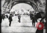 Image of Eiffel Tower Paris France, 1900, second 15 stock footage video 65675040582