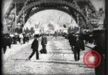 Image of Eiffel Tower Paris France, 1900, second 16 stock footage video 65675040582
