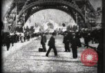 Image of Eiffel Tower Paris France, 1900, second 17 stock footage video 65675040582