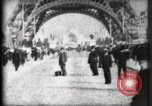 Image of Eiffel Tower Paris France, 1900, second 19 stock footage video 65675040582