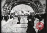 Image of Eiffel Tower Paris France, 1900, second 20 stock footage video 65675040582