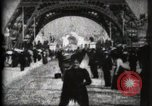 Image of Eiffel Tower Paris France, 1900, second 21 stock footage video 65675040582