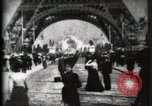 Image of Eiffel Tower Paris France, 1900, second 22 stock footage video 65675040582