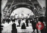 Image of Eiffel Tower Paris France, 1900, second 23 stock footage video 65675040582