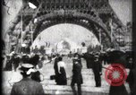Image of Eiffel Tower Paris France, 1900, second 24 stock footage video 65675040582