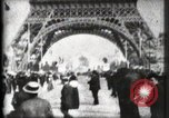 Image of Eiffel Tower Paris France, 1900, second 25 stock footage video 65675040582