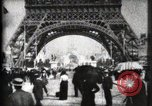 Image of Eiffel Tower Paris France, 1900, second 26 stock footage video 65675040582
