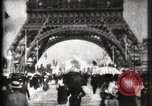 Image of Eiffel Tower Paris France, 1900, second 27 stock footage video 65675040582