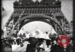Image of Eiffel Tower Paris France, 1900, second 28 stock footage video 65675040582
