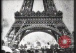 Image of Eiffel Tower Paris France, 1900, second 31 stock footage video 65675040582