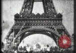Image of Eiffel Tower Paris France, 1900, second 32 stock footage video 65675040582