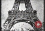 Image of Eiffel Tower Paris France, 1900, second 33 stock footage video 65675040582