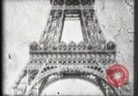 Image of Eiffel Tower Paris France, 1900, second 35 stock footage video 65675040582