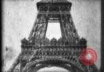 Image of Eiffel Tower Paris France, 1900, second 36 stock footage video 65675040582