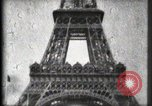 Image of Eiffel Tower Paris France, 1900, second 37 stock footage video 65675040582