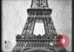 Image of Eiffel Tower Paris France, 1900, second 38 stock footage video 65675040582