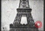 Image of Eiffel Tower Paris France, 1900, second 39 stock footage video 65675040582