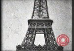 Image of Eiffel Tower Paris France, 1900, second 40 stock footage video 65675040582