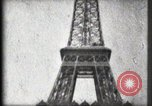 Image of Eiffel Tower Paris France, 1900, second 41 stock footage video 65675040582
