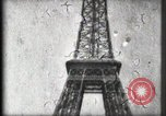 Image of Eiffel Tower Paris France, 1900, second 42 stock footage video 65675040582