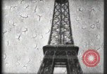 Image of Eiffel Tower Paris France, 1900, second 43 stock footage video 65675040582