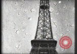 Image of Eiffel Tower Paris France, 1900, second 44 stock footage video 65675040582