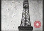 Image of Eiffel Tower Paris France, 1900, second 45 stock footage video 65675040582