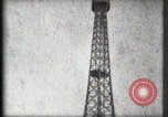 Image of Eiffel Tower Paris France, 1900, second 47 stock footage video 65675040582