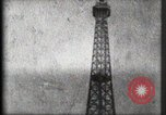 Image of Eiffel Tower Paris France, 1900, second 50 stock footage video 65675040582