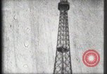 Image of Eiffel Tower Paris France, 1900, second 51 stock footage video 65675040582
