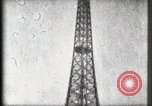 Image of Eiffel Tower Paris France, 1900, second 57 stock footage video 65675040582
