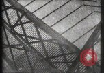 Image of Elevator ascending Eiffel Tower Paris France, 1900, second 5 stock footage video 65675040584