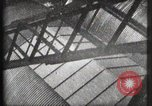 Image of Elevator ascending Eiffel Tower Paris France, 1900, second 9 stock footage video 65675040584
